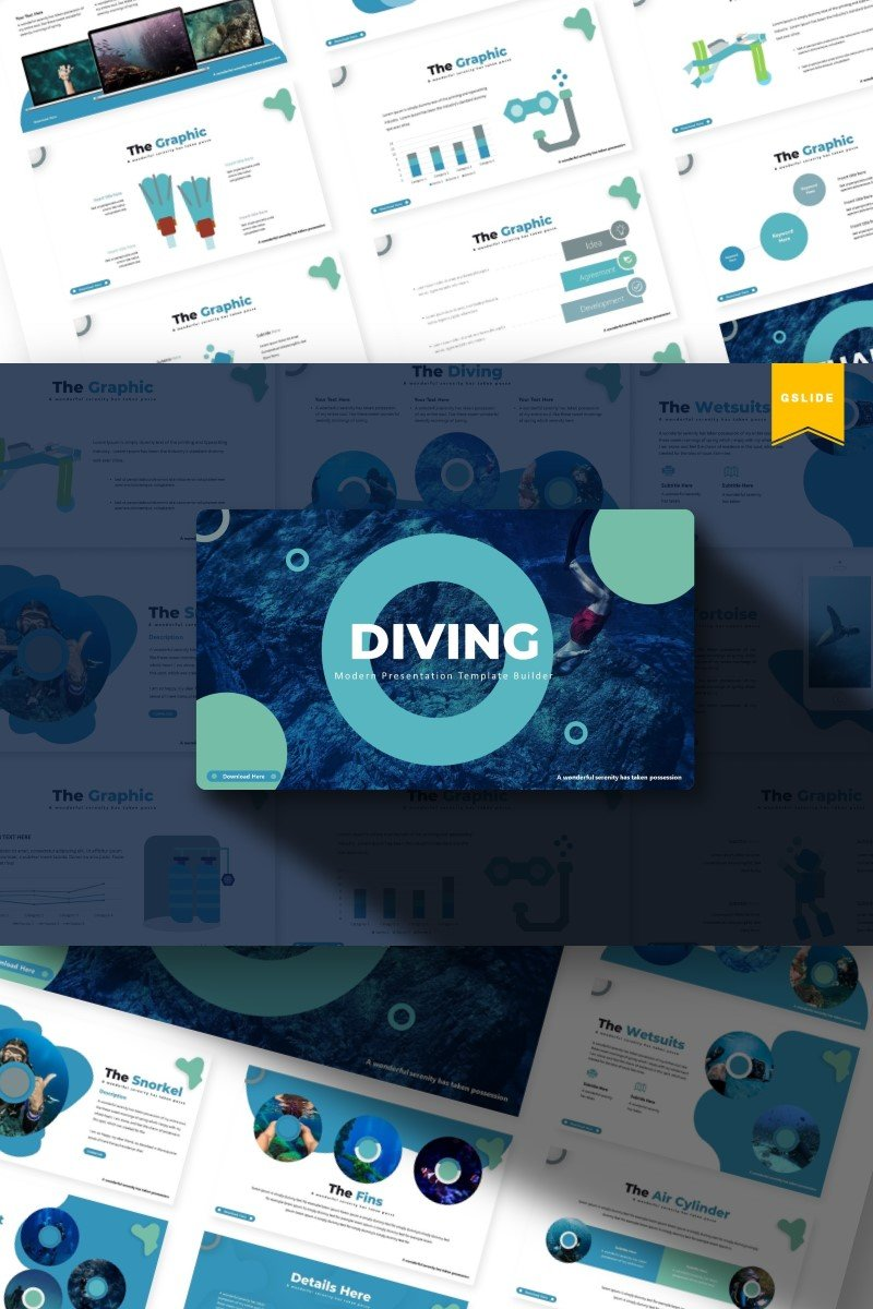 Diving | Google Slides #85936