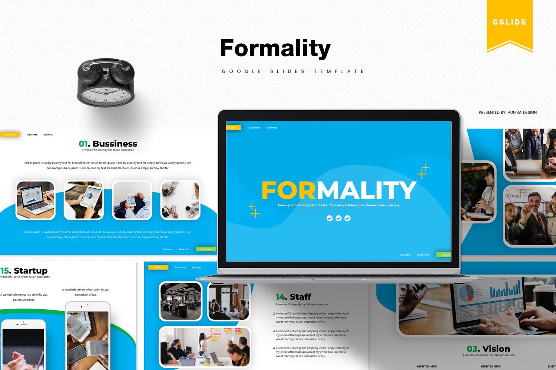 Formality   Google Slides #85935