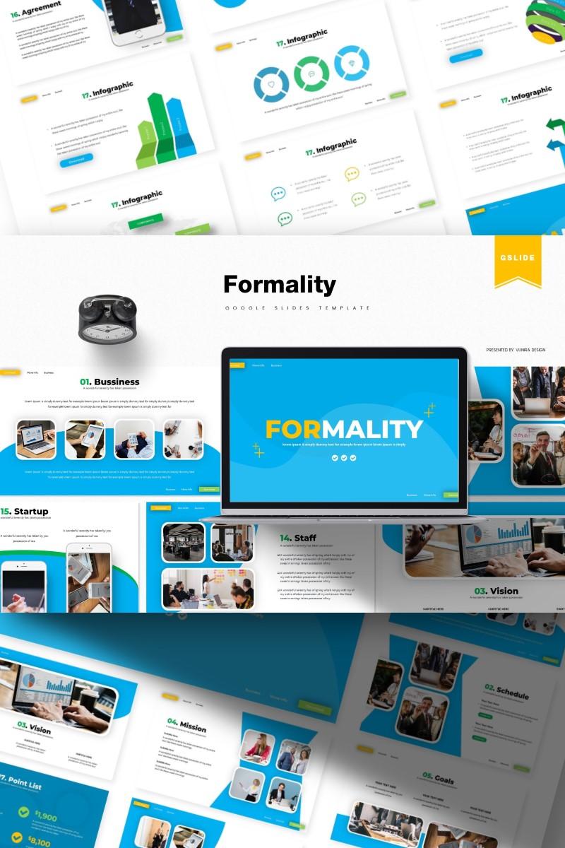 Formality | Google Slides №85935