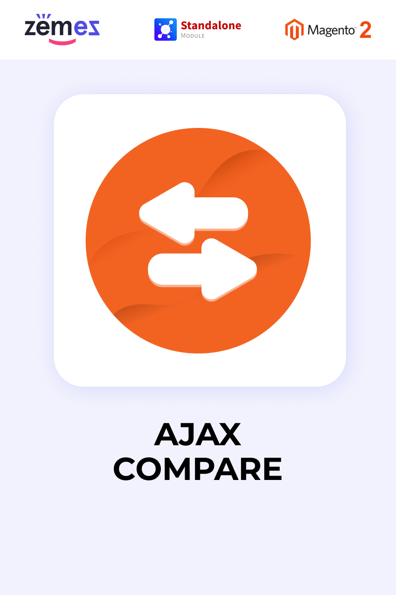 """Zemez Ajax Compare"" - Magento розширення №85938 - скріншот"