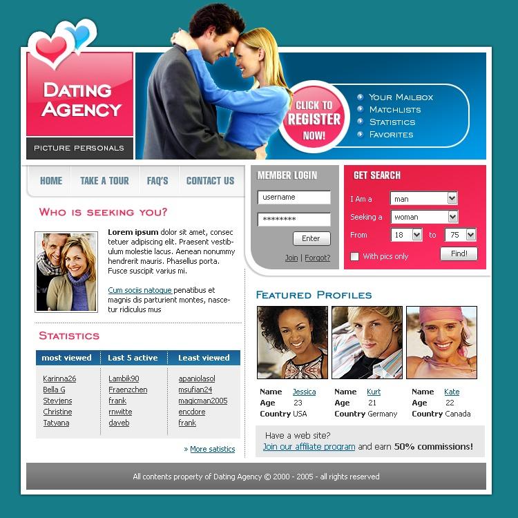 Сайты знакомств раскручивал