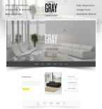 Интерьер и мебель. Шаблон сайта 86039