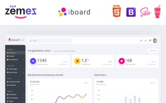 iboard - Multipurpose Dashboard Creative