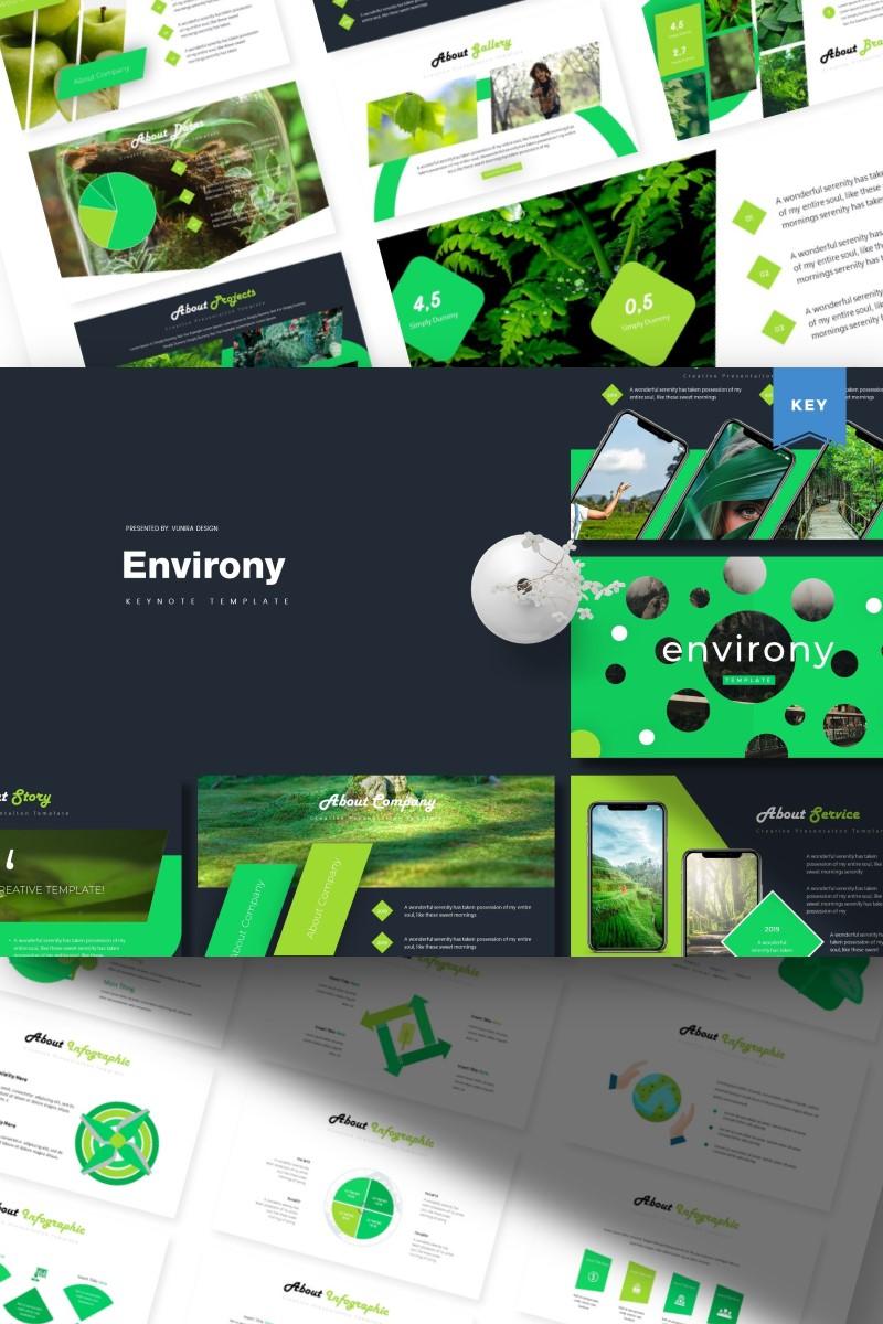 Environy | Keynote Template - screenshot