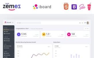 iboard - Multipurpose Dashboard Creative Admin Template