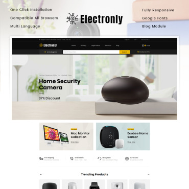 Купить  пофессиональные PrestaShop шаблоны. Купить шаблон #86120 и создать сайт.