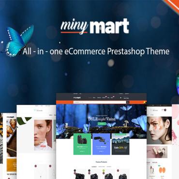 Купить  пофессиональные PrestaShop шаблоны. Купить шаблон #86131 и создать сайт.