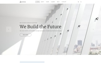 Architeca - Architecture Agency Multipage Stylish Joomla Template
