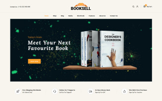 Booksell - Books & Stationery Store WooCommerce Theme