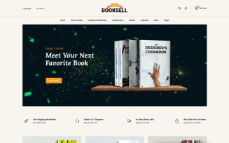 Booksell - Stationery Store OpenCart Template