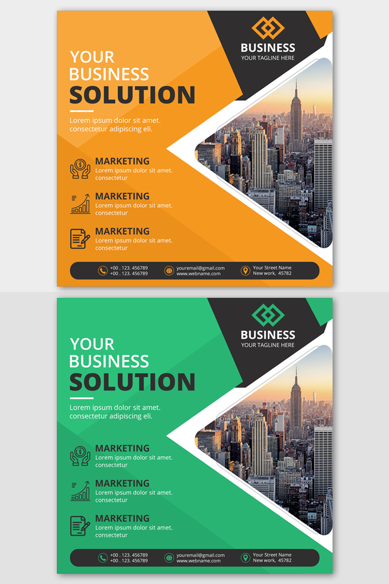 Business Banner template Social Media - screenshot