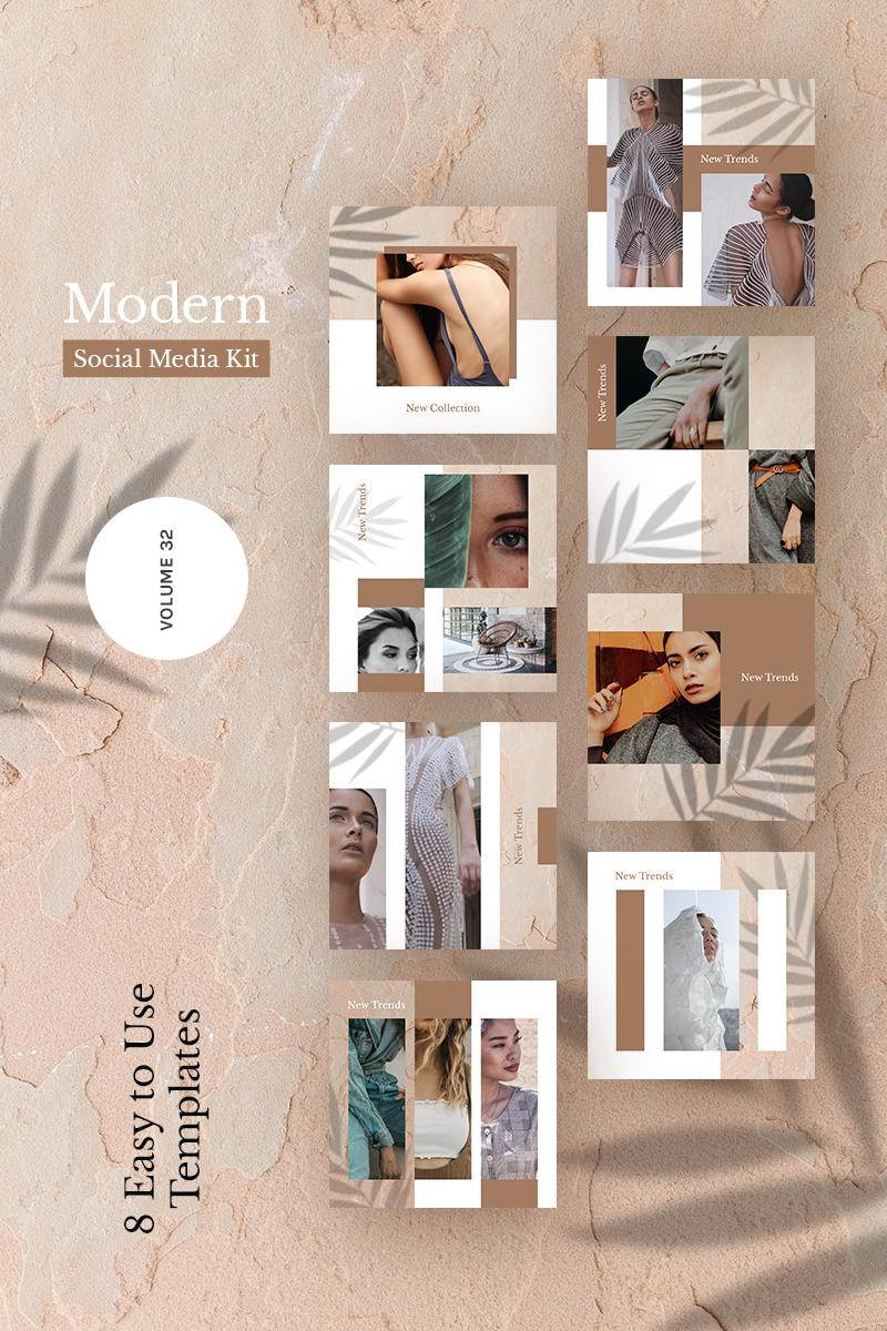 Modern  Kit (Vol. 32) Social Media - screenshot