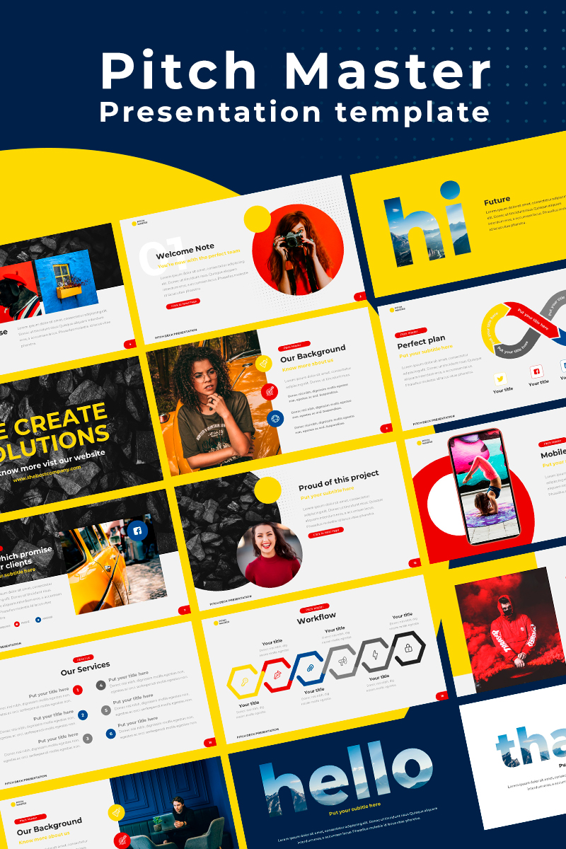 Pitch Master PowerPoint Template