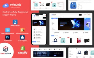 Twinvolt Electronic Shopify Theme