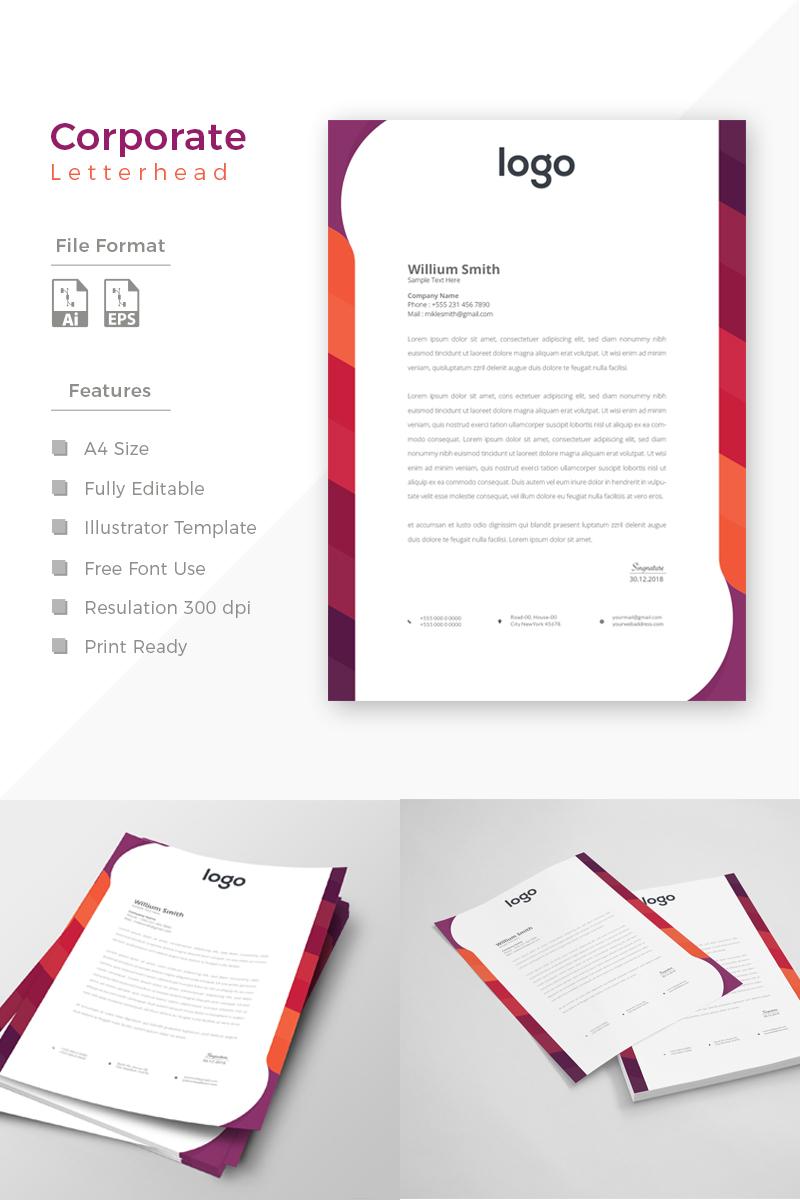 Unique Design Márkastílus sablon 86188 - képernyőkép