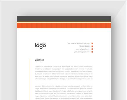 Minimal Letterhead Corporate Identity