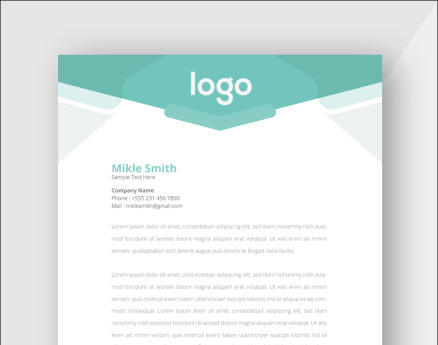 Design Pro Creative Letterhead Corporate Identity