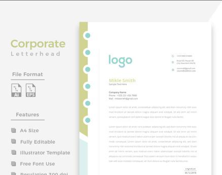 Design Pro Letterhead Corporate Identity
