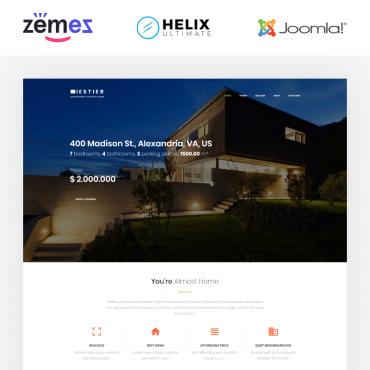 Купить  пофессиональные Joomla шаблоны. Купить шаблон #86295 и создать сайт.