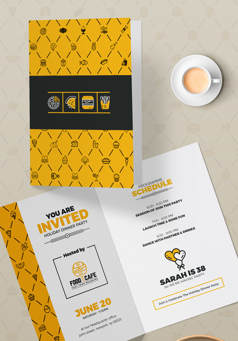 Grand Opening Invitation Card Template Psd Template