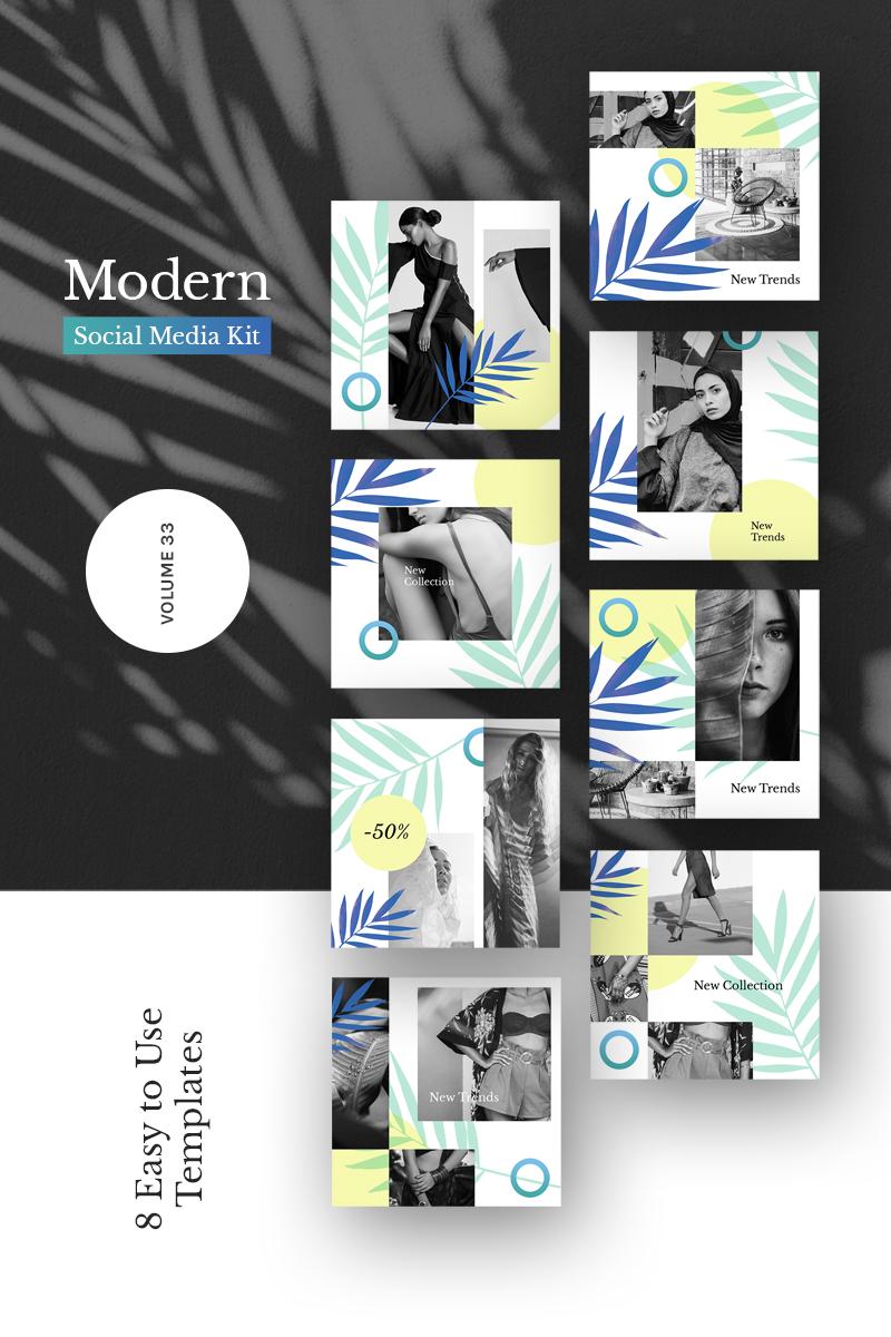 """""""Modern Kit (Vol. 33)"""" 社交媒体 #86210 - 截图"""