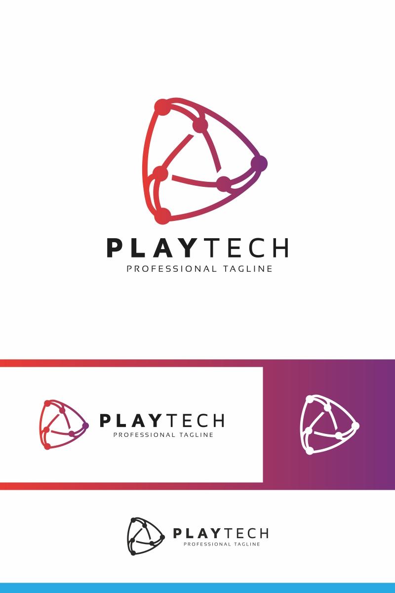 Play Tech Logo Template