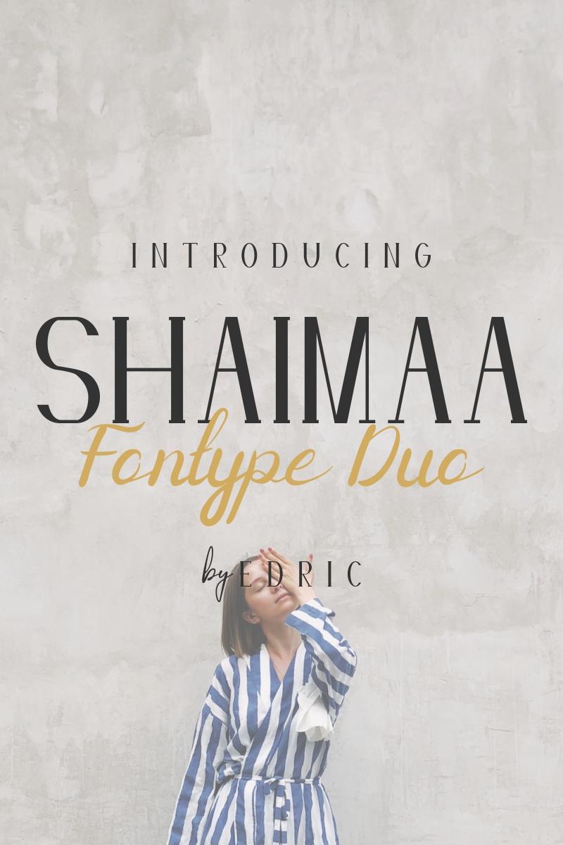 Shaimaa Font - screenshot