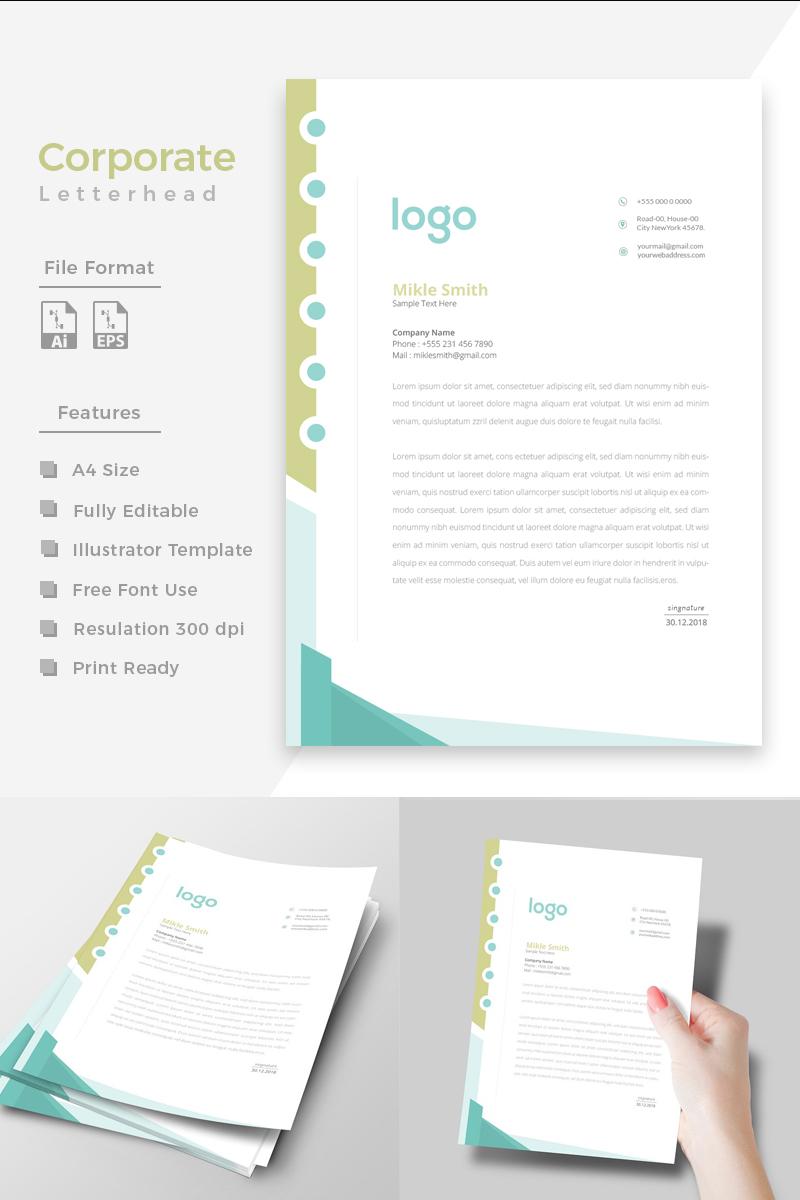 Szablon tożsamości korporacyjnej Design Pro Letterhead #86275 - zrzut ekranu