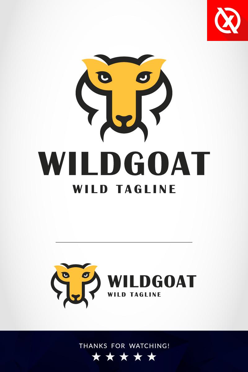 """Wild Goat - Animal"" Premium Logo template №86297 - screenshot"