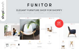 Funitor - Elegant furniture shop for Shopify Theme