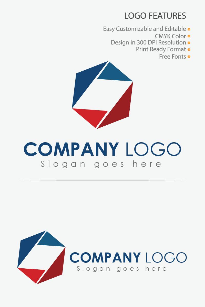Creative Geometric Icon Unika logotyp mall #86306 - skärmbild