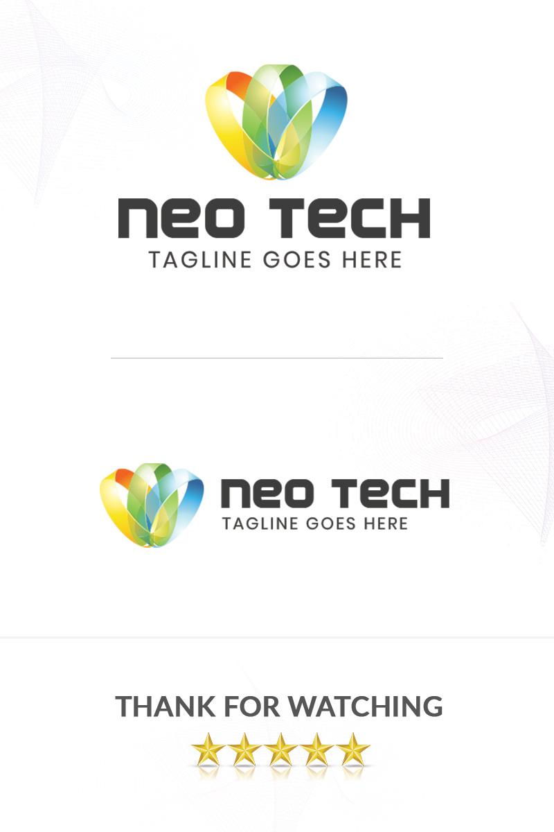 """Luxusní Šablona logotypu """"NeoTech"""" #86307 - screenshot"""