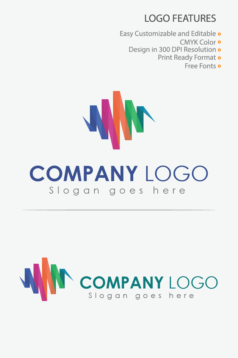 Music Design Logo Template