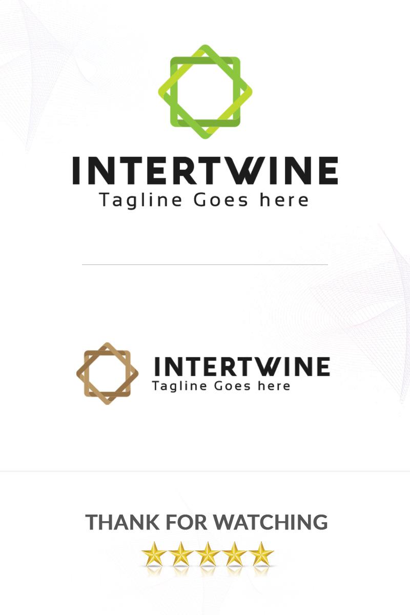 Premium Intertwine Unika logotyp mall #86309 - skärmbild