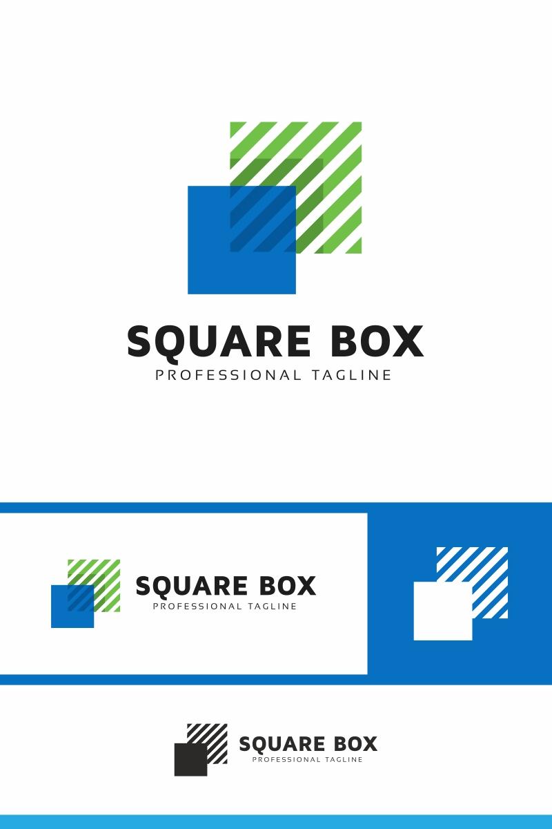 Square Box Invest Logo Template