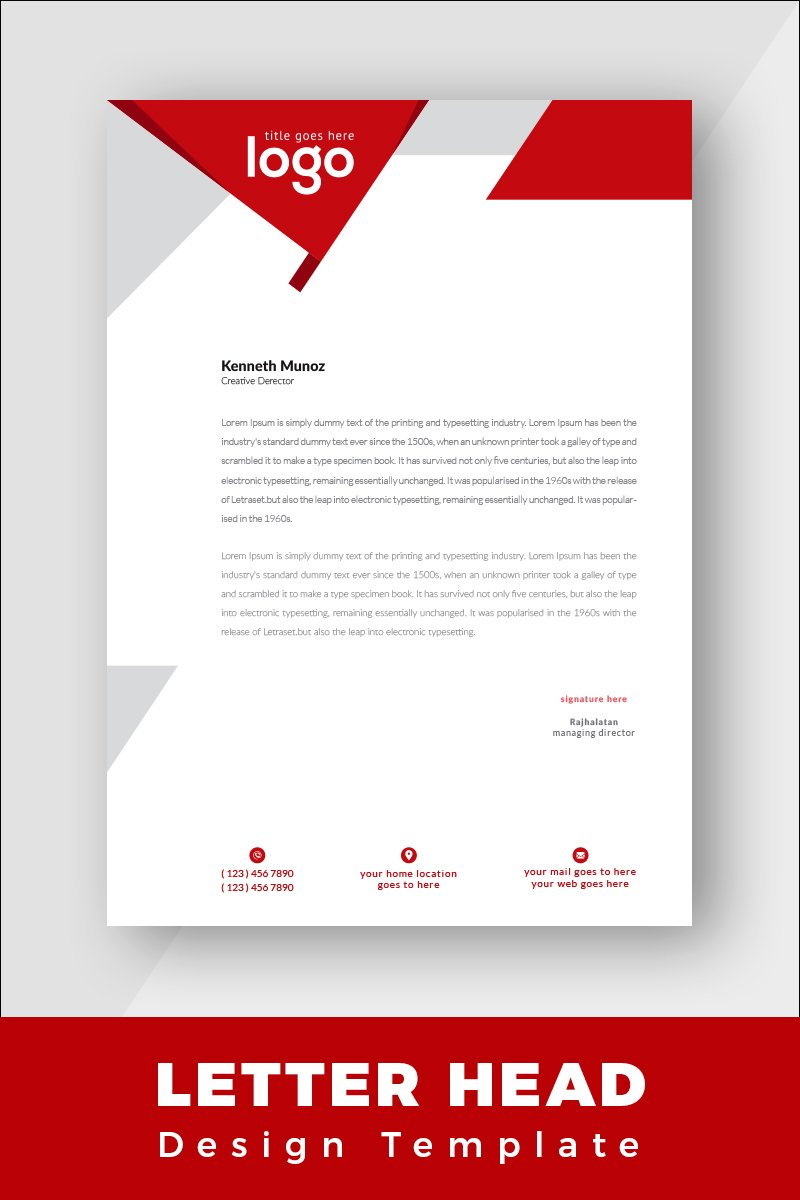 Molele Corporate Identity Template