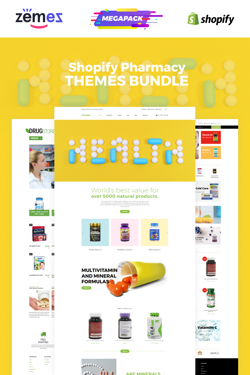 "Shopify motiv ""Pharmacy Bundle"" #86472"