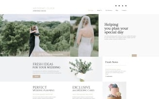 Wedding Guide - Wedding Planner Multipage Stylish Joomla Template