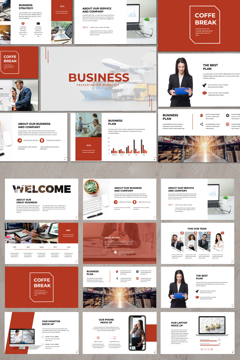 Business Presentation Keynote Template