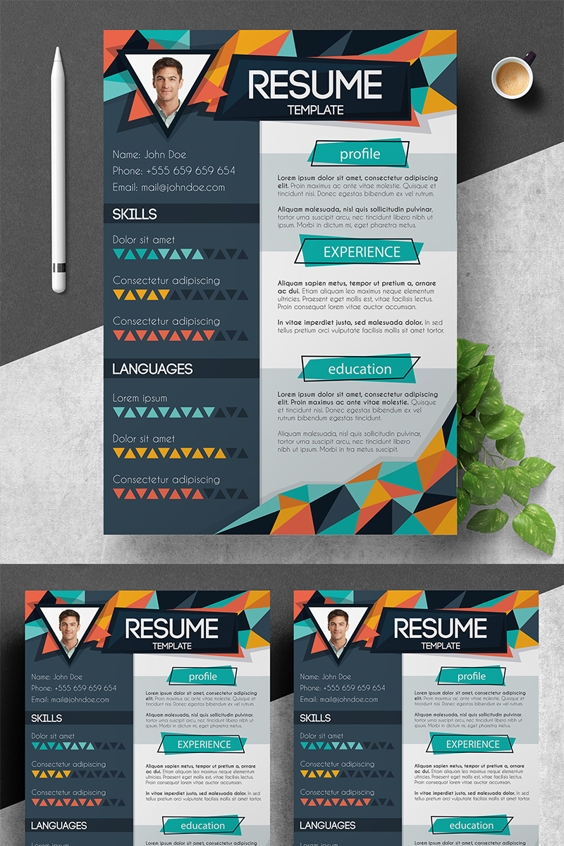 Doe Creative Design Resume Template