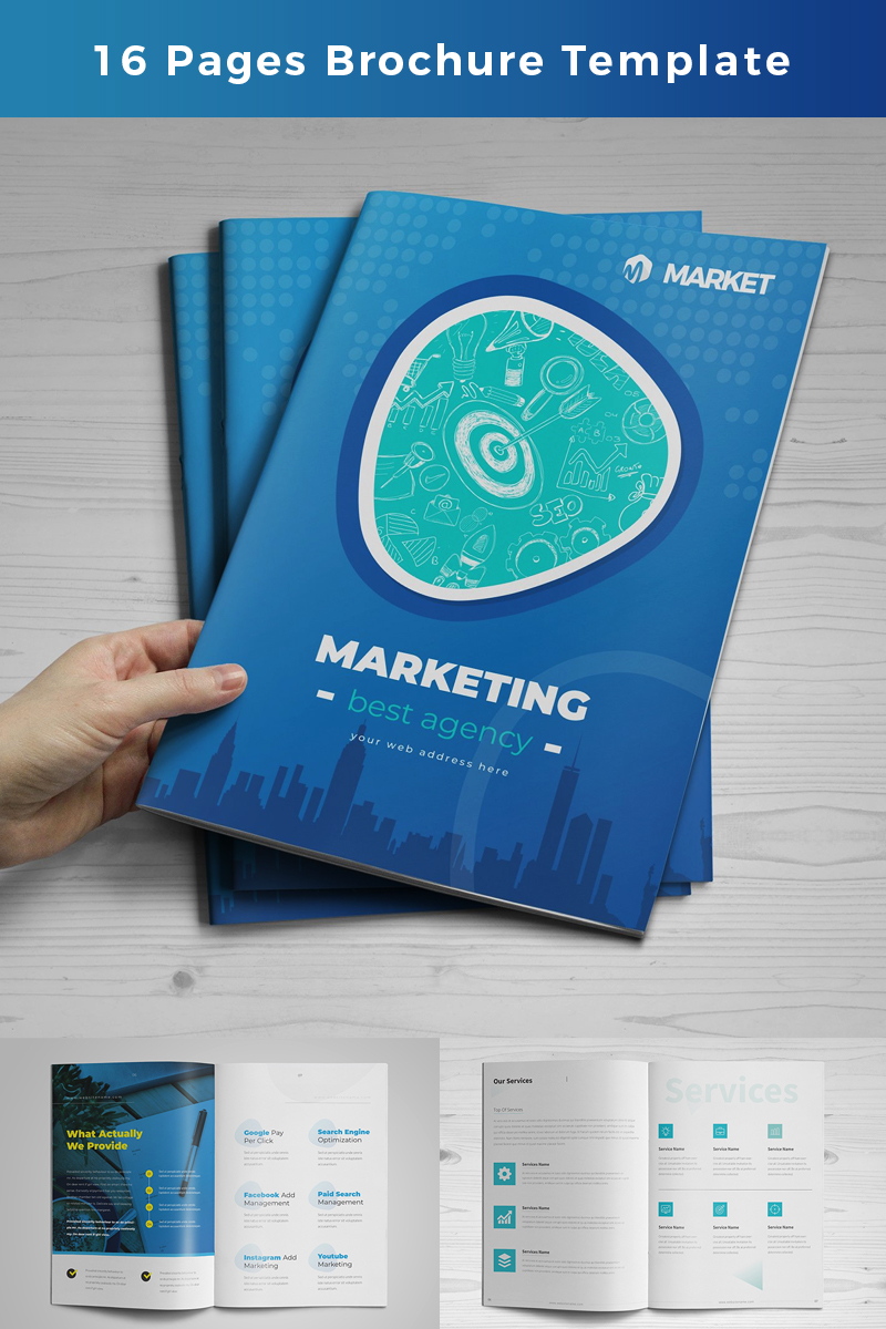 Boves  Pages Business Brochure Design Corporate Identity Template