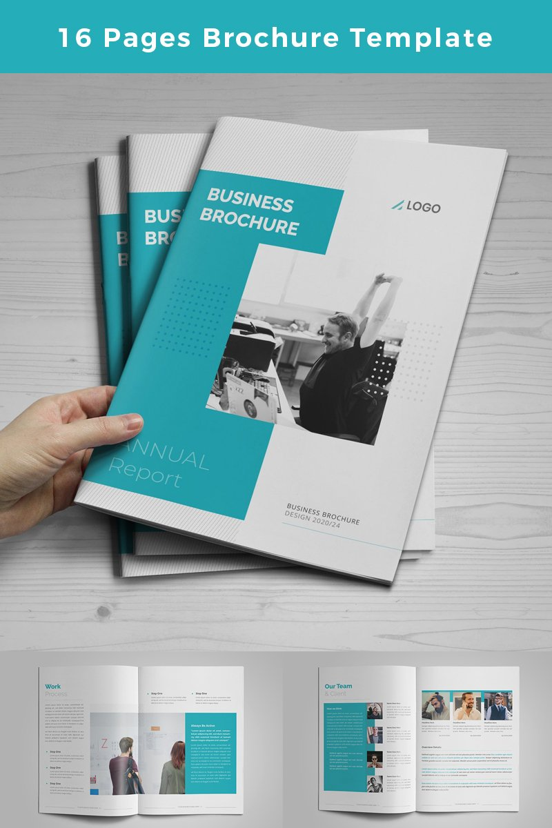 Creativeya Creative and Minimalist  Pages brochure Corporate Identity Template