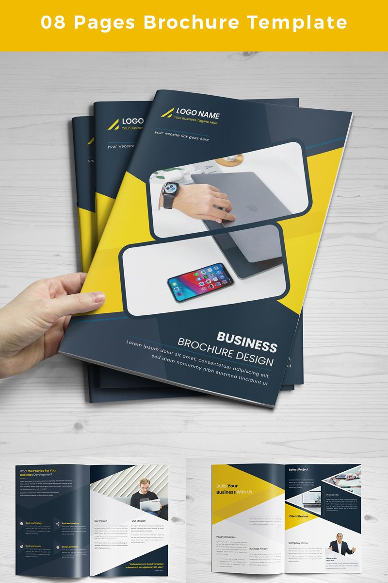Grayling-pages-Brochure Corporate Identity Template