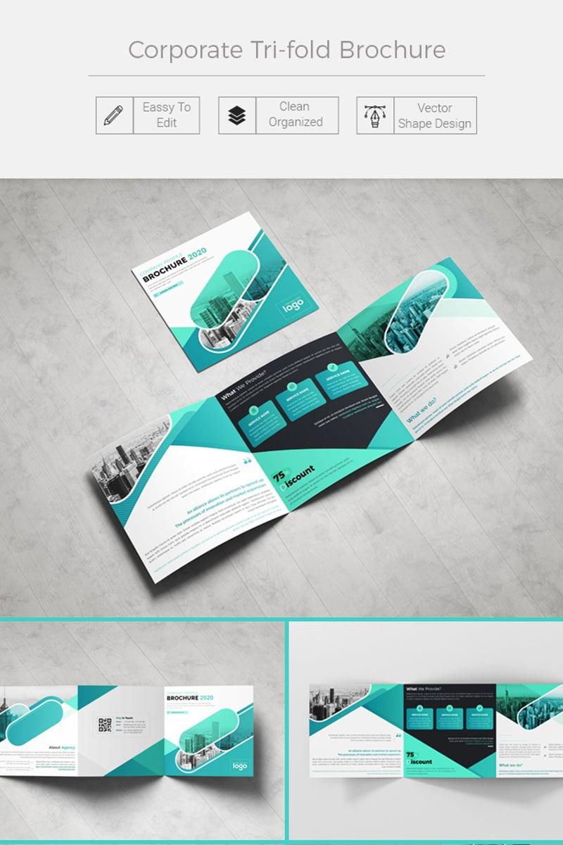 """Herblet Square Trifold Company Profile"" design d'Entreprise  #86741"