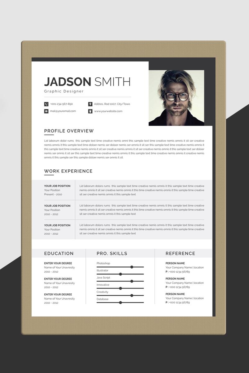 Jadson Smith Resume Resume Template