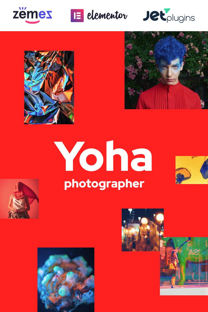 "Responzivní WordPress motiv ""Yoha - Fashion Ultra Minimalist"" #86752"