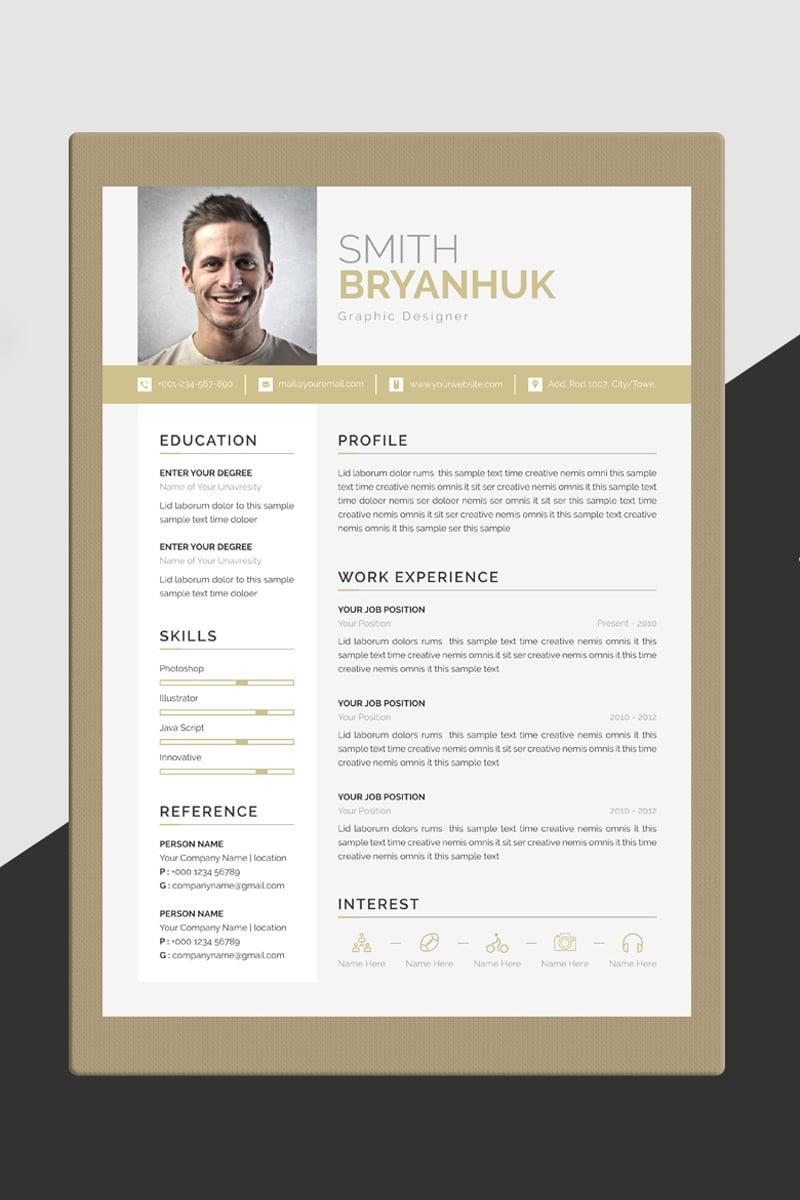 Smith Bryanhuk Resume Template