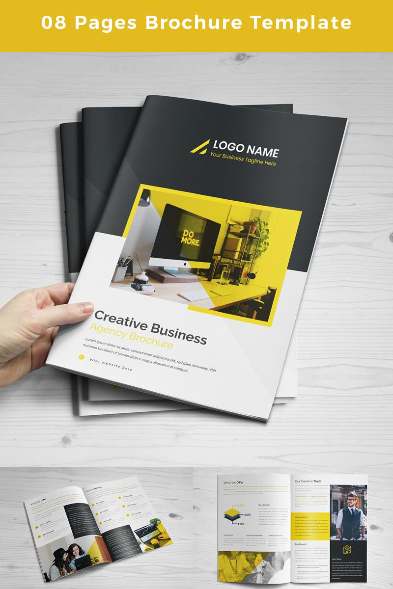 """Unternehmensidentität Vorlage namens """"Brango-Pages -Brochure"""" #86770"""