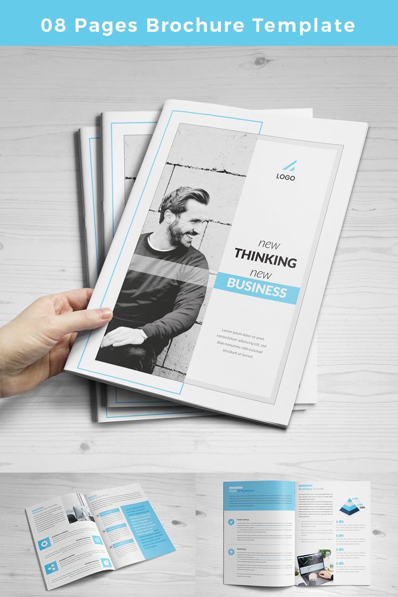 """Unternehmensidentität Vorlage namens """"Guasi-pages-Brochure"""" #86768"""