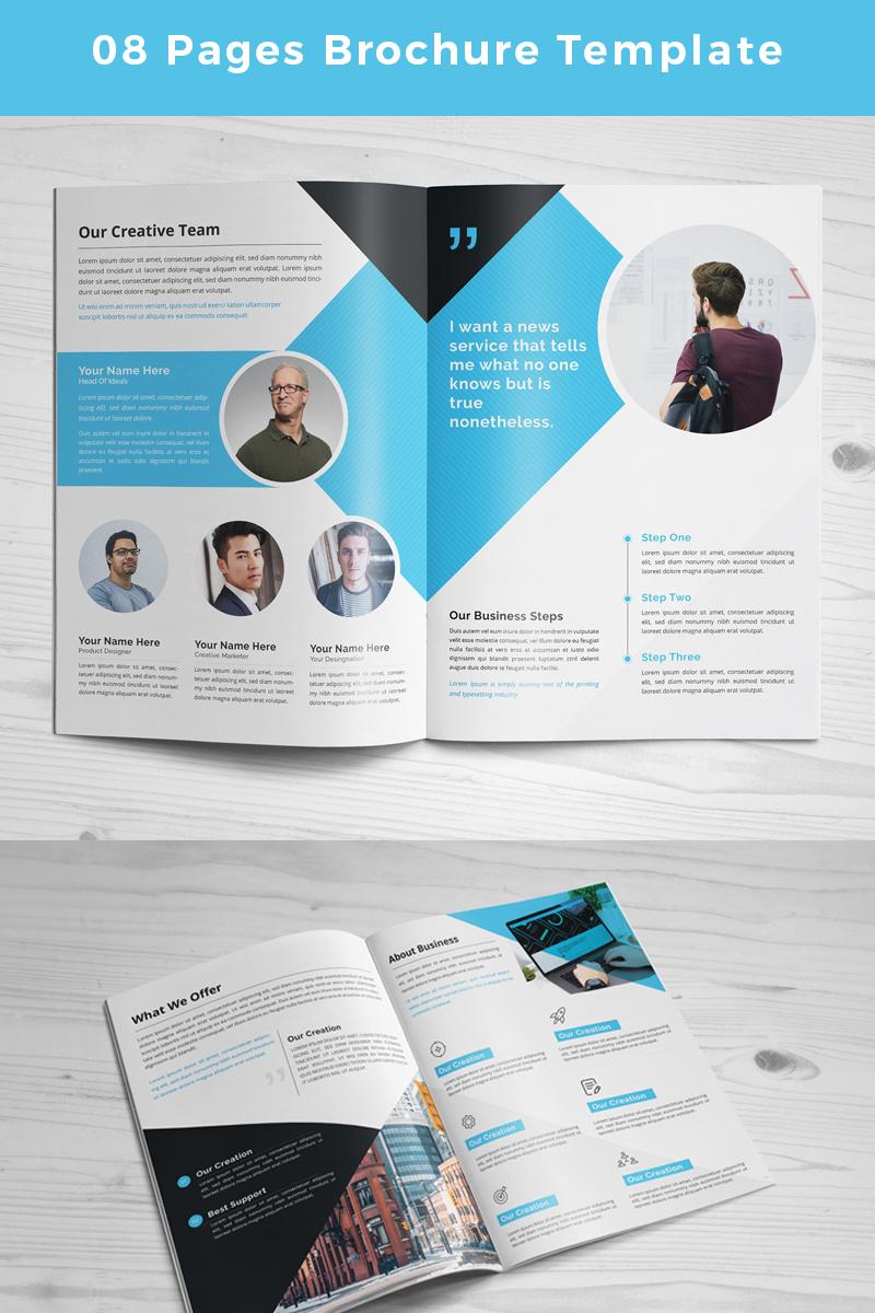 """Unternehmensidentität Vorlage namens """"Mipido-Pages-Brochure"""" #86765"""
